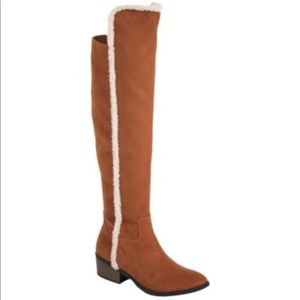 MIA knee high fur lined boots